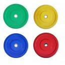 Δίσκοι Χρωματιστοί πλαστικοποιημένοι 1,25kg για Bodypumb Φ28 Mds