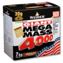 Mega Mass 4000 7kgr Chocolate Weider