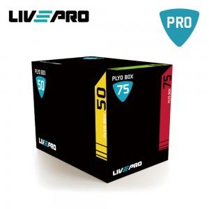 3 σε 1 Πλειομετρικό κουτί soft (Plyo Box) Β 8153 Live Pro