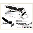Ρυθμιζόμενος Πάγκος Λ-628 Force USA Fitness Equipment