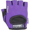 Γάντια γυμναστικής γυναικεία Μώβ (κοφτά) PRO GRIP PS-2250