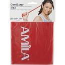 Λάστιχο Γυμναστικής Gym Band 1.20m Κόκκινο/Medium 48182 Amila