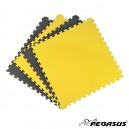 Δάπεδο προστασίας Puzzle EVA (Μαύρο/Κίτρινο) 2.0cm Β-4100-20 Pegasus