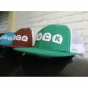 Καπέλο Jockey με δύχτι σε 4 διαφορετικά χρώματα(πράσινο)