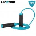 Live Pro Σχοινάκι Skipping PVC (Μαύρο/Μπλε) B-8286