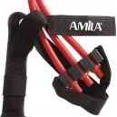 Ιμάντες έλξεων με λάστιχα Pull-up Straps with Tubing 88263 Amila